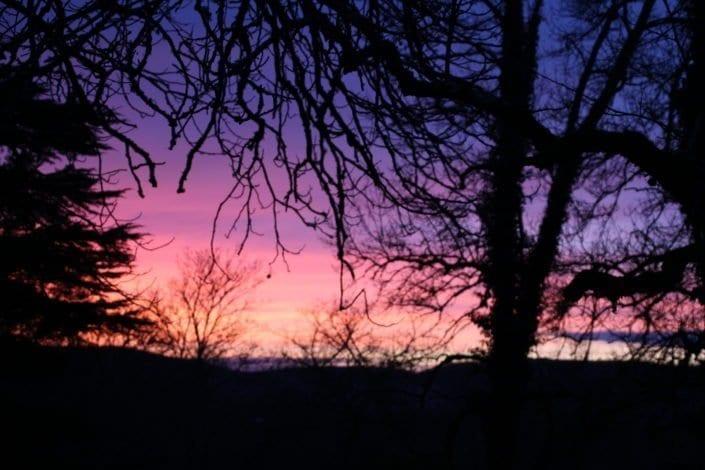 Bouysset Sonnenuntergang
