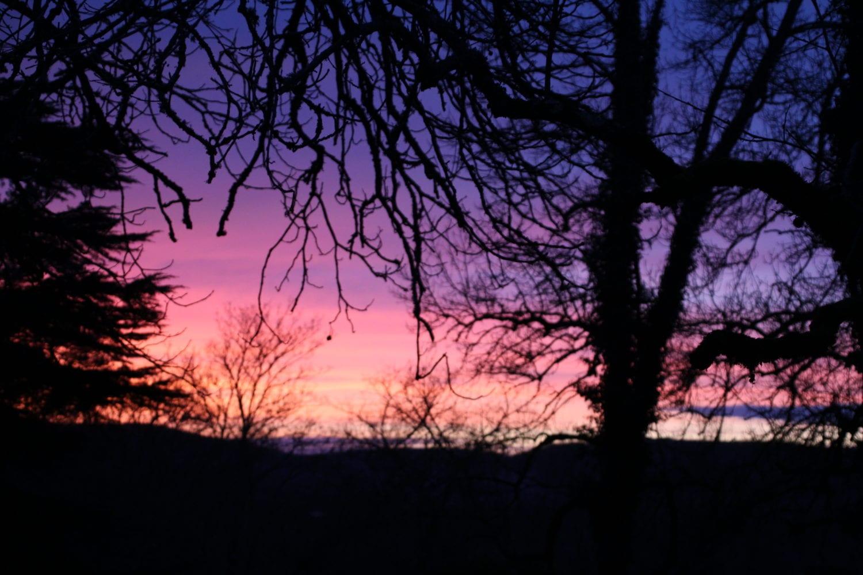 Bouysset ondergaande zon
