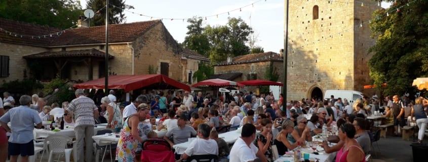 Saint-Martin-le-Redon Marché gourmand