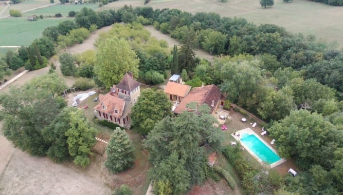 Bouysset by drone août 2018